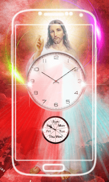 Jesus Clock Live Wallpaper APK screenshot 3