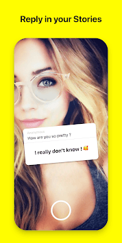 Rose: Anonymous Love Messages for Snapchat Friends APK screenshot 2