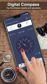 Digital Compass 360 free for android APK screenshot 2