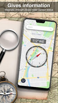 Digital Compass 360 free for android APK screenshot 3