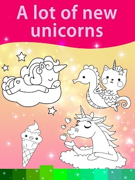 Unicorn Coloring Pages with Animation Effects APK screenshot 3