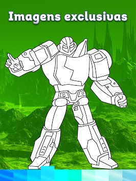 Robots Coloring Pages with Animated Effects APK screenshot 3