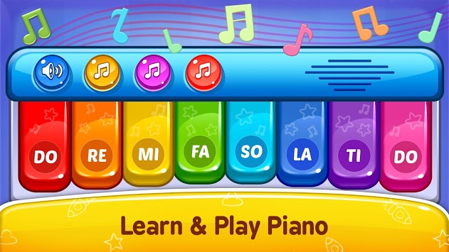 Baby Games - Piano, Baby Phone, First Words APK screenshot 2