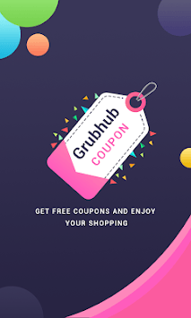 Free Meals Coupons for Grubhub APK screenshot 1
