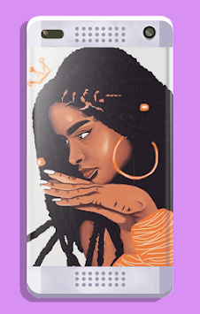 Melanin wallpapers: Girly, Cute, Girls APK screenshot 2