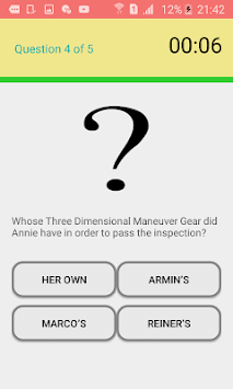 Attack on Titan quiz APK screenshot 3