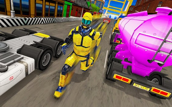 Speed Robot Highway Racing APK screenshot 1