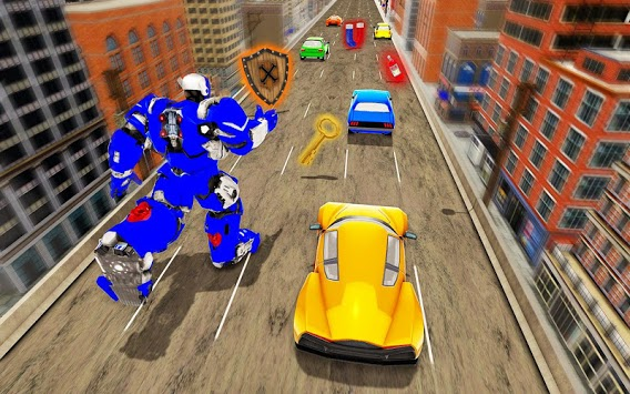 Speed Robot Highway Racing APK screenshot 2