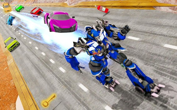 Speed Robot Highway Racing APK screenshot 3