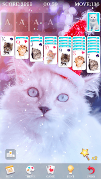 Solitaire - Beautiful Girl Themes, Funny Card Game APK screenshot 2