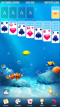 Solitaire - Beautiful Girl Themes, Funny Card Game APK screenshot 3