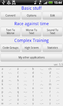 Faster Than Morse code APK : Download v6 1 for Android at