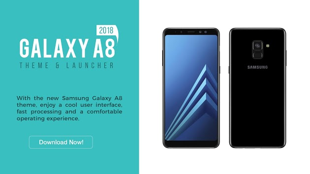 Theme for Galaxy A8 (2018) | Icon Pack | Wallpaper APK