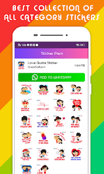 Stickers for WhatsApp - WAStickerApps APK screenshot 3