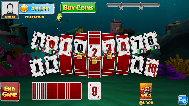Solitaire Time Warp APK screenshot 2