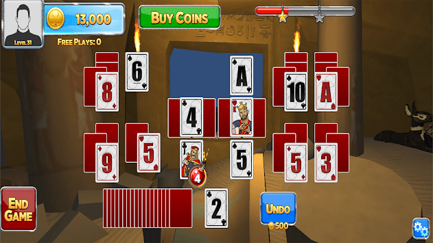 Solitaire Time Warp APK screenshot 3