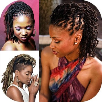 Black Woman Dreadlocks Hairstyle APK screenshot 2