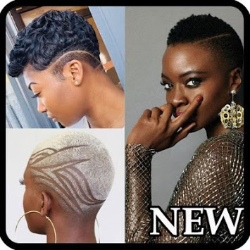Black Woman Hairstyle Faded APK screenshot 1