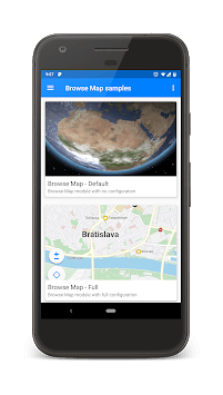 SygicMapsKit Showcase APK screenshot 1