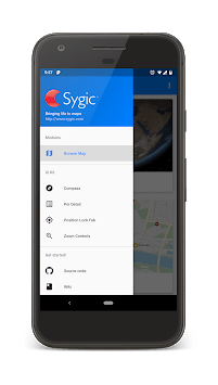 SygicMapsKit Showcase APK screenshot 2
