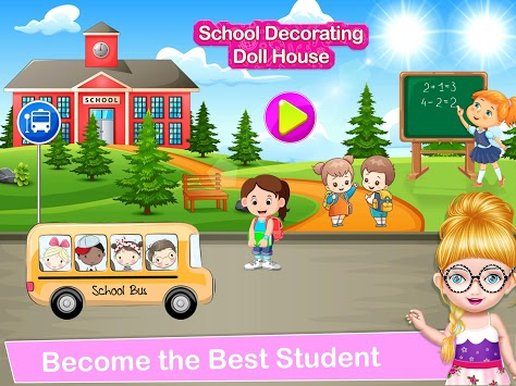 School Decorating Doll House Town My HomePlay Game APK screenshot 1