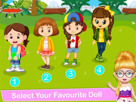 School Decorating Doll House Town My HomePlay Game APK screenshot 2