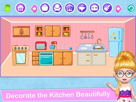 School Decorating Doll House Town My HomePlay Game APK screenshot 3