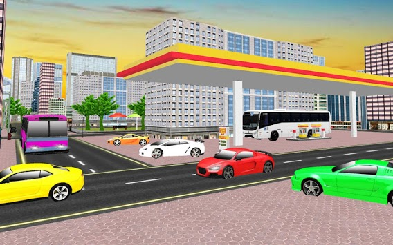 Modern Car Wash Service: Driving School 2019 APK screenshot 3