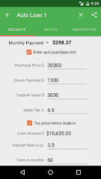 Auto Loan Calculator APK : Download v2 0 5 for Android at AndroidCrew