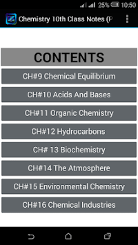 10th Class Chemistry Notes(Key book) PTB APK : Download v1 0