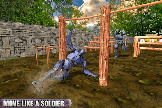 Royale Army US Robot Training Course APK screenshot 2
