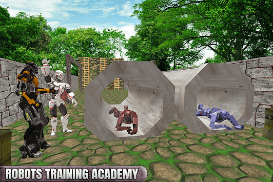 Royale Army US Robot Training Course APK screenshot 3