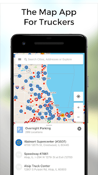 TruckMap - Truck GPS Routes APK : Download v2 29 for Android at