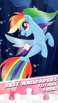 Little Pony Puzzle for kids APK screenshot 2