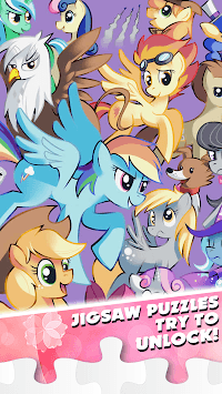 Little Pony Puzzle for kids APK screenshot 3