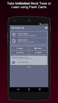 CDL Practice Exams 2019 Commercial Drivers License APK screenshot 1