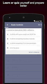 CDL Practice Exams 2019 Commercial Drivers License APK screenshot 3