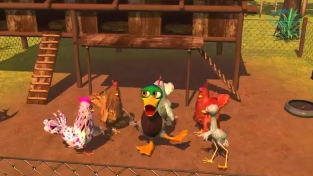 Video for children The rooster and the leg APK screenshot 3