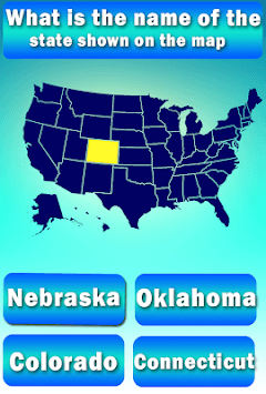 Usa States Quiz APK screenshot 1