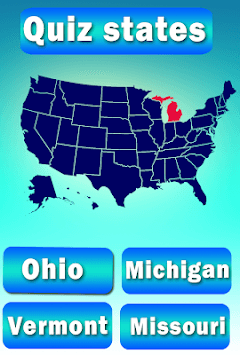 Usa States Quiz APK screenshot 2