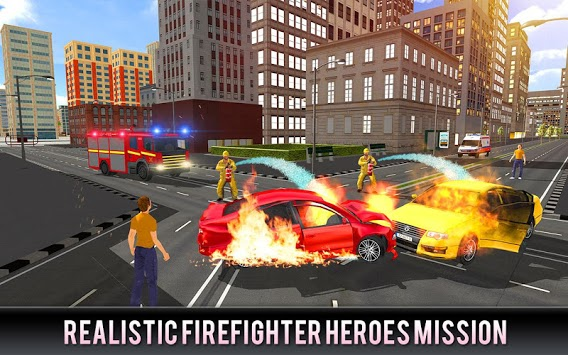 Firefighter Truck 911 Rescue: Emergency Driving APK : Download v1