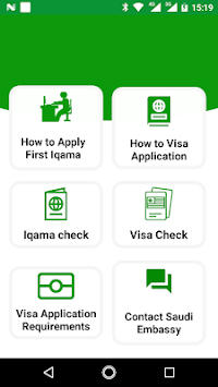 Saudi Visa and Iqama Check APK : Download v1 03 for Android at