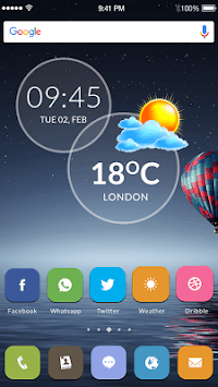Live Weather & Clock Widget APK : Download v1 0 for Android at