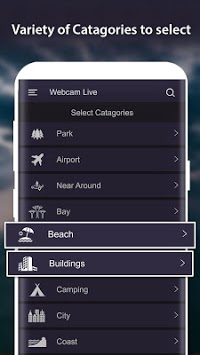 World Live Camera Viewer : Webcam, Earth cam APK screenshot 2