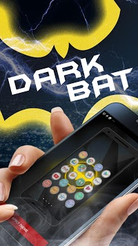 Bat Hero Theme Launcher - Wallpapers and Icons APK screenshot 1