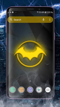 Bat Hero Theme Launcher - Wallpapers and Icons APK screenshot 3