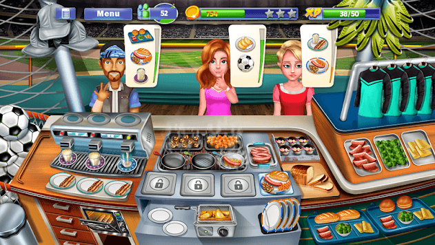 Chef's Life : Crazy Restaurant Kitchen APK screenshot 2