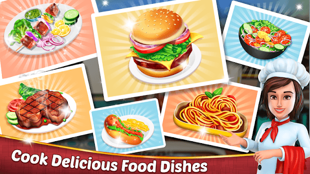 Chef's Life : Crazy Restaurant Kitchen APK screenshot 3