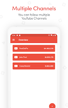 YTCount – Real-time Subscriber Count APK : Download v1 0 1 2