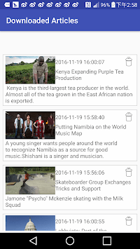VOA Learning English APK : Download v1 05 for Android at